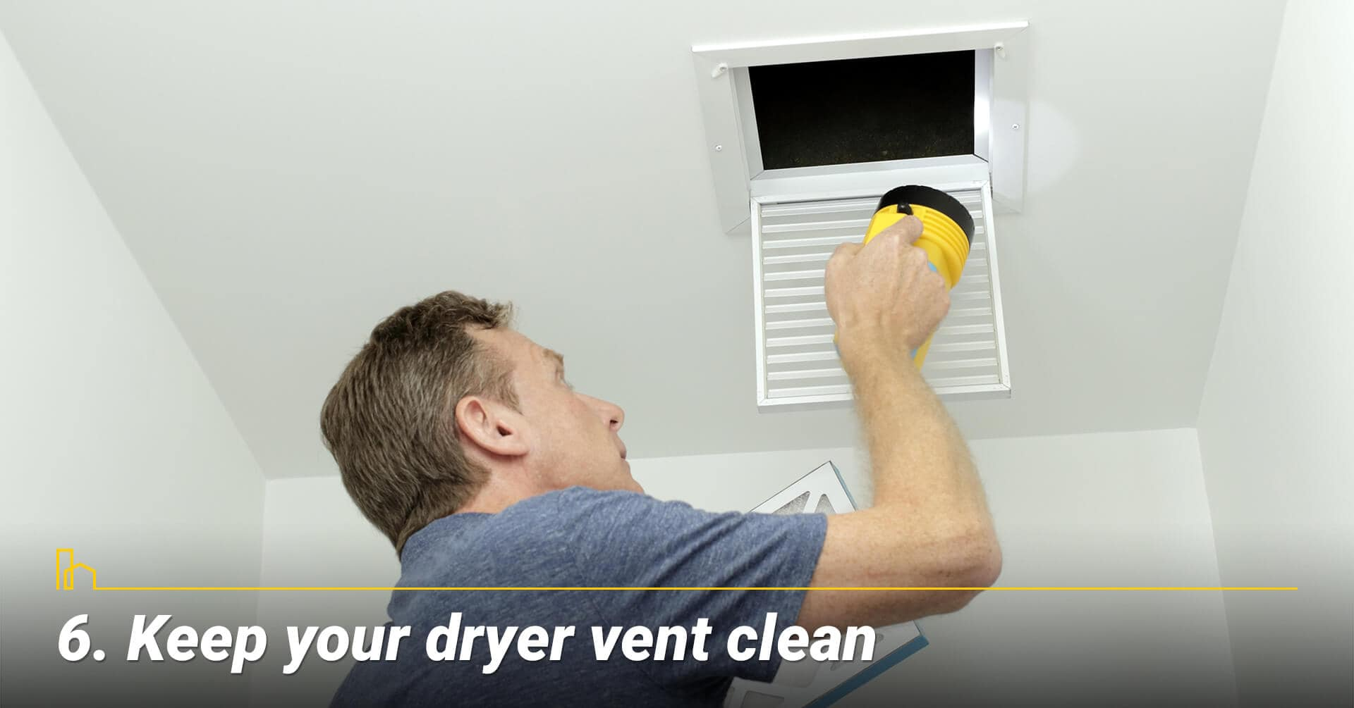 Keep your dryer vent clean