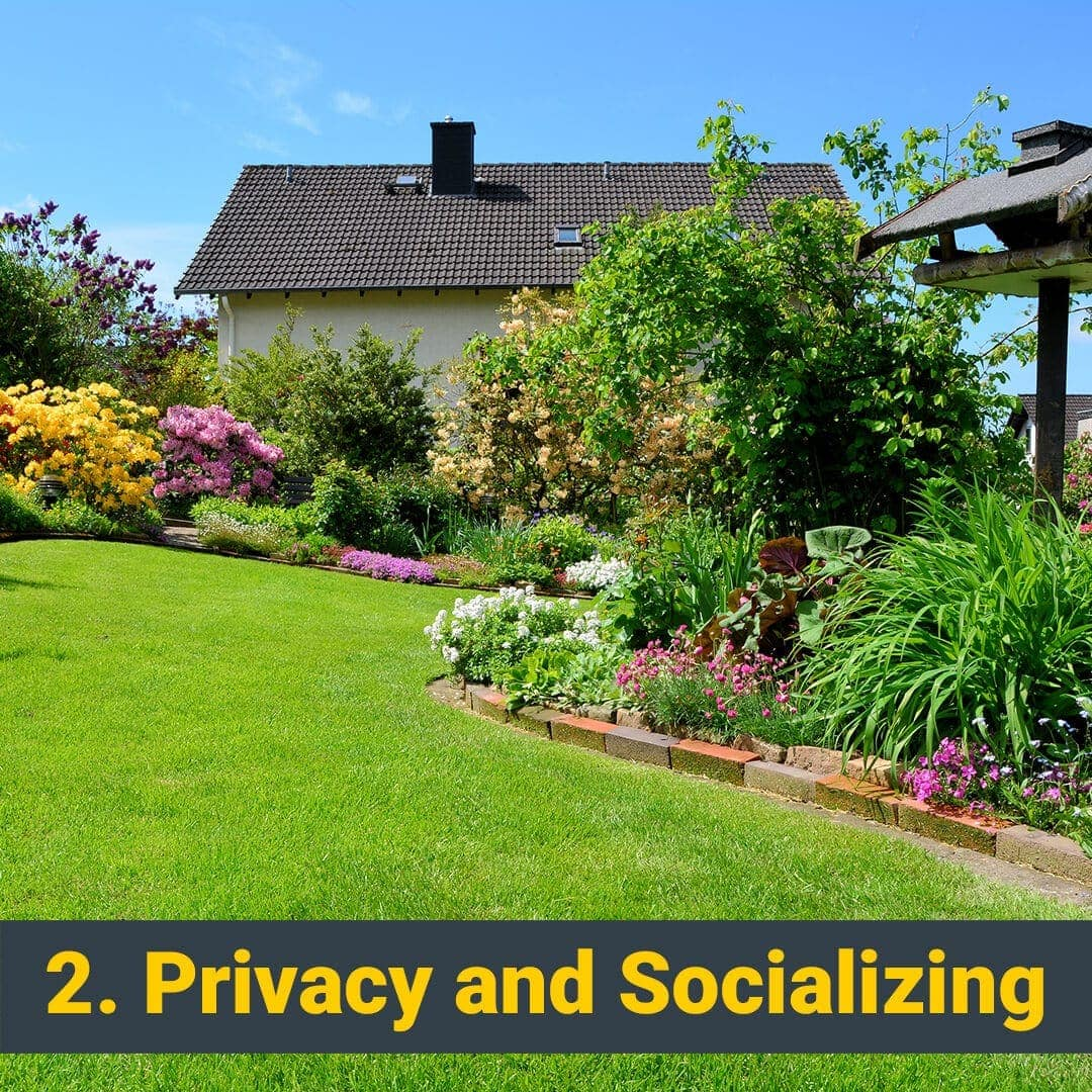 Privacy and Socializing