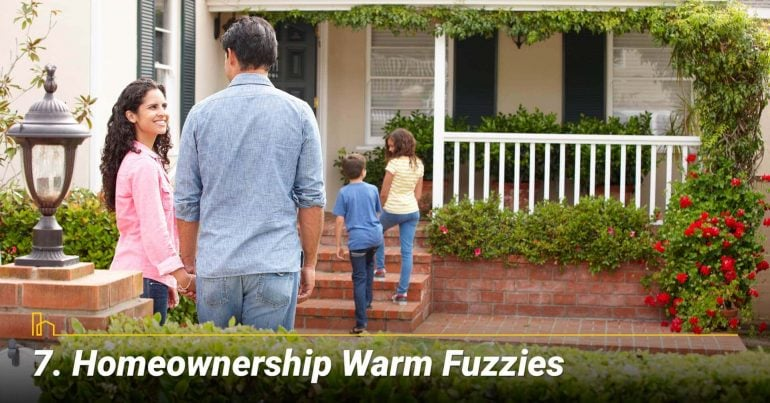 Homeownership Warm Fuzzies