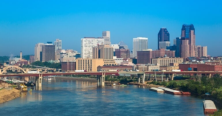Job growth and low unemployment in St. Paul, MN