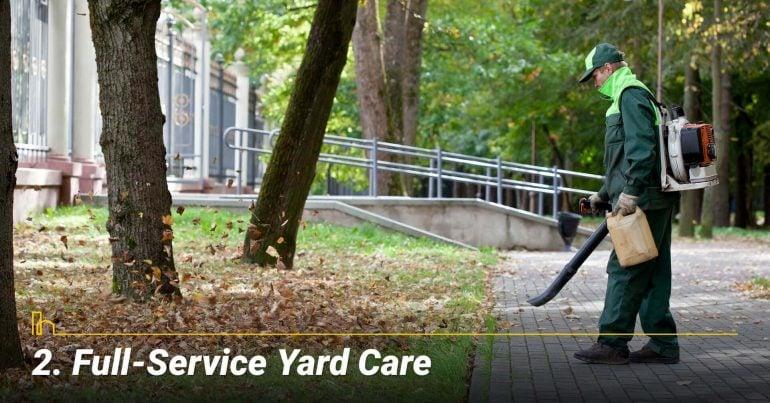 Full-Service Yard Care