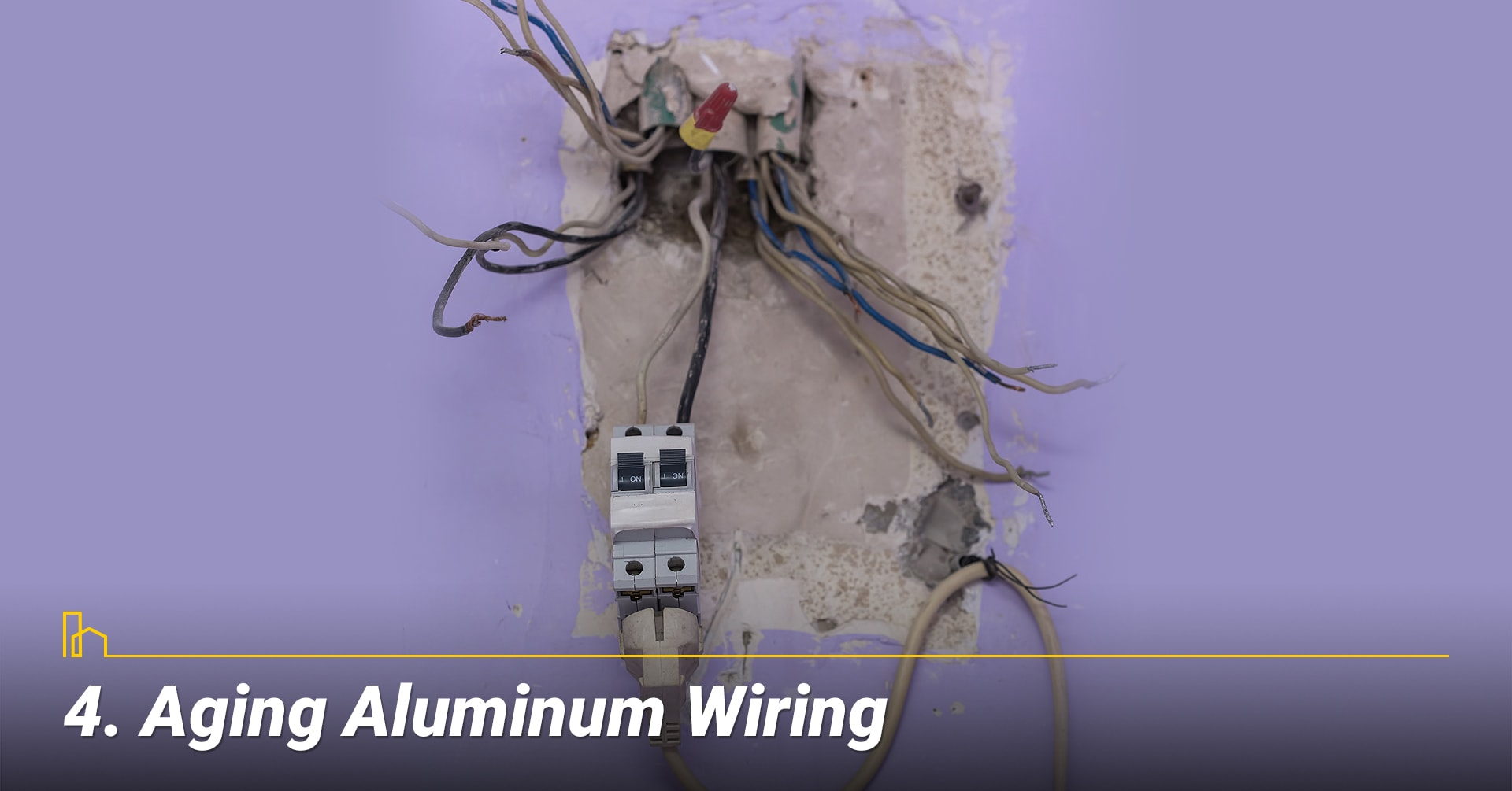 Aging Aluminum Wiring, old wires