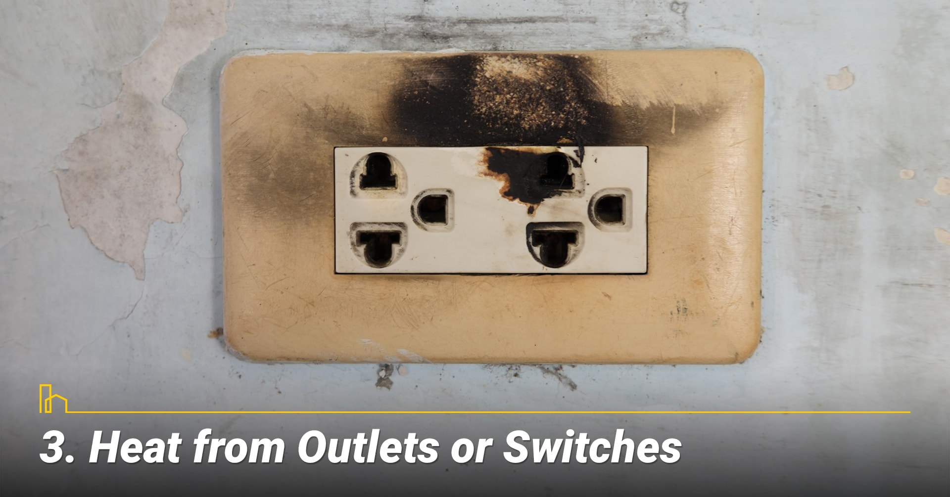 Heat from Outlets or Switches, raising temperature at outlets