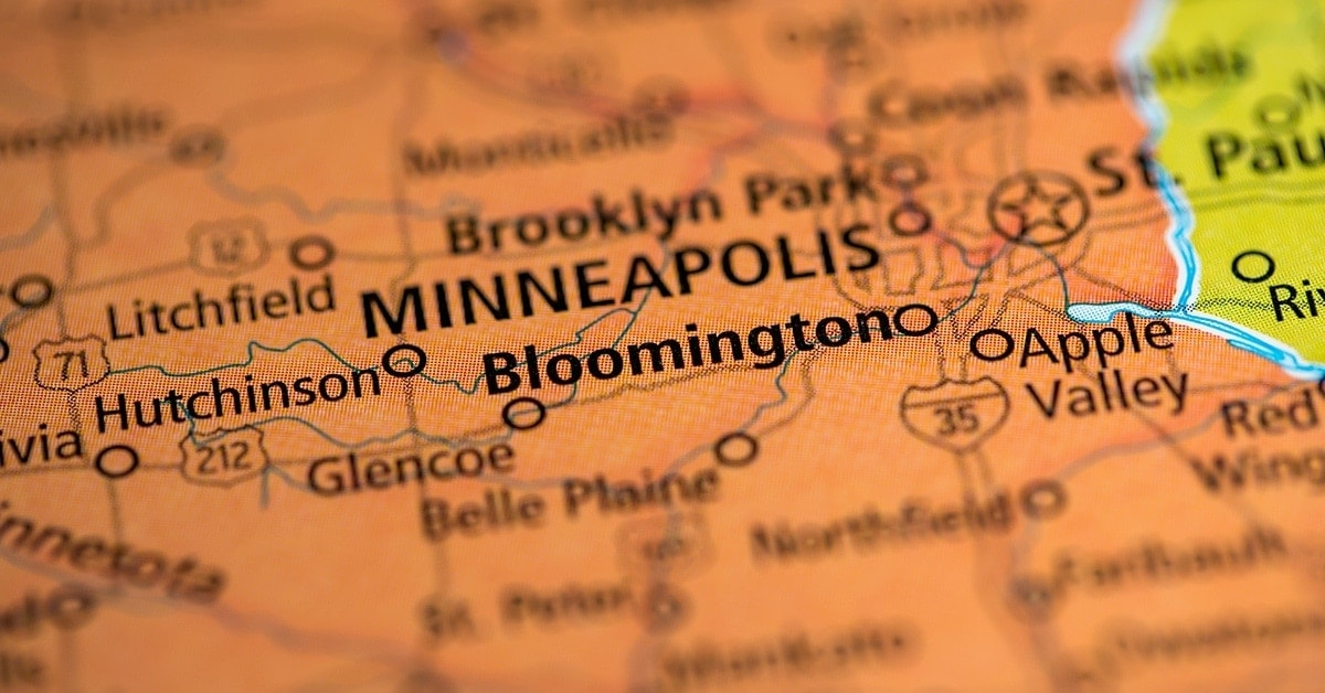 Bloomington, MN has easily accessible by highway with a major airport nearby