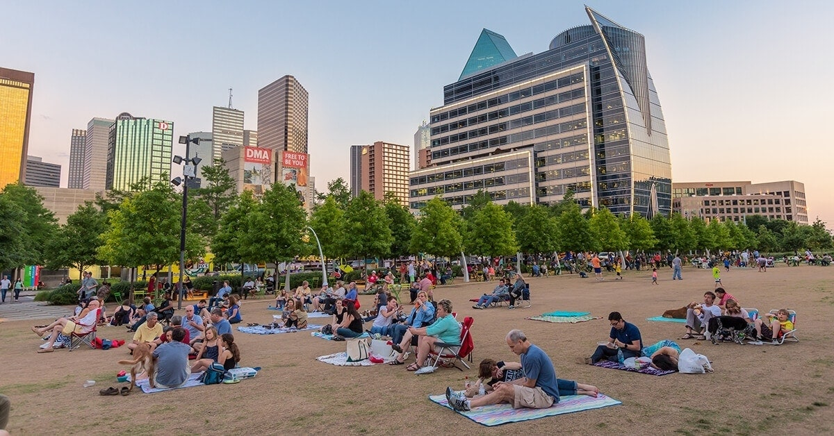 Growing population enjoys vibrant cultural scene in Dallas, TX
