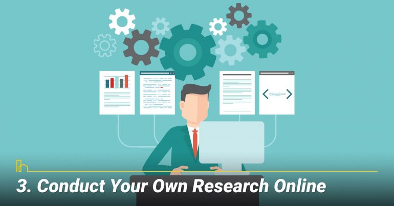 Conduct Your Own Research Online