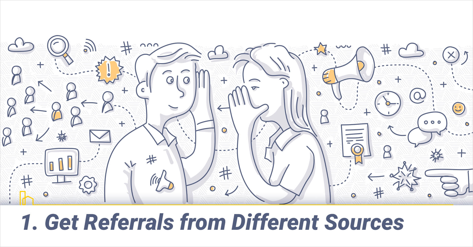 Get Referrals from Different Sources