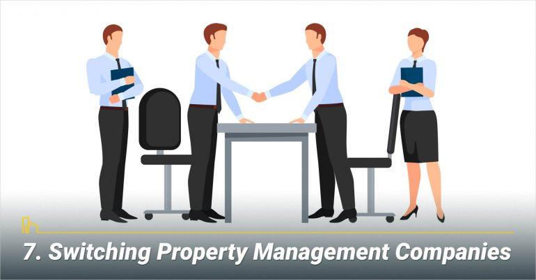 Switching Property Management Companies