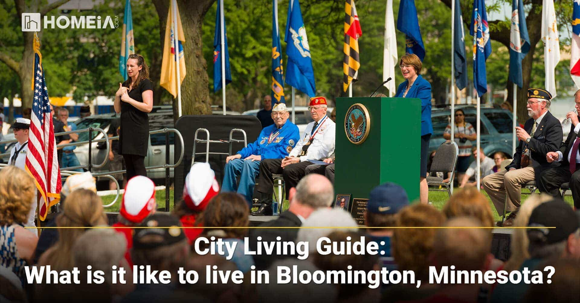 What is it like living in Bloomington, Minnesota?
