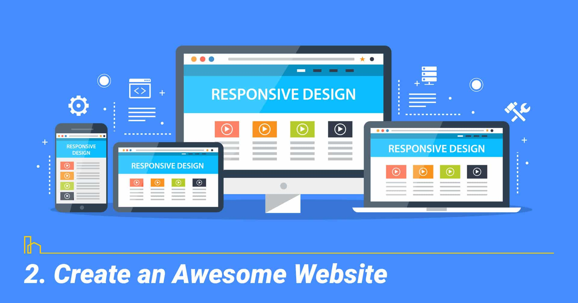 Create an Awesome Website, create a great website for your business