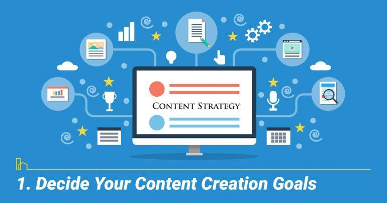 Decide Your Content Creation Goals