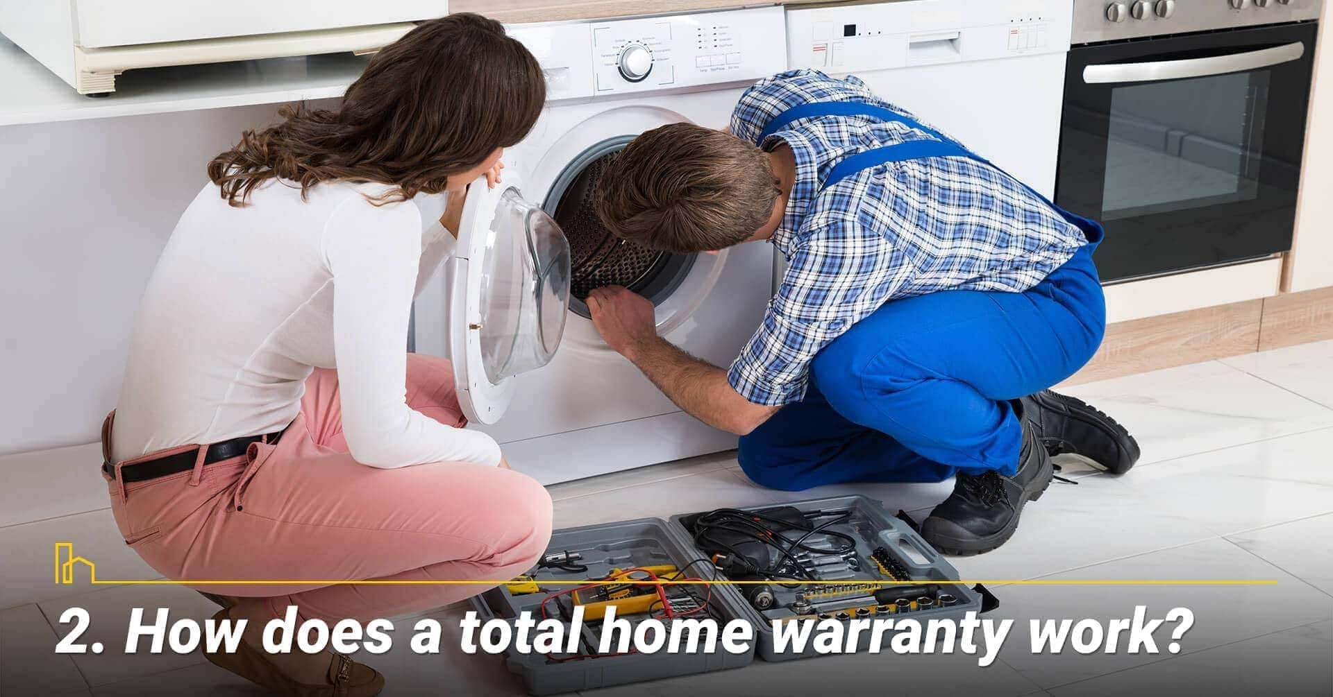How does a total home warranty work?