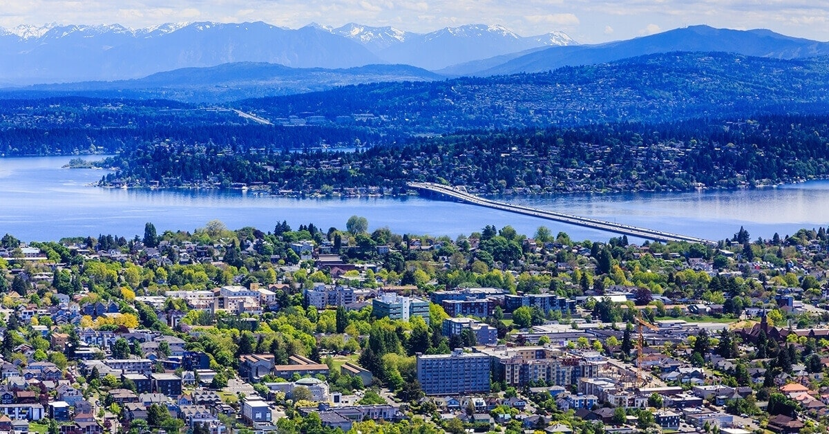 Moderate climate appeals year round in Seattle, Washington