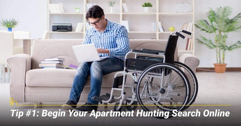 Tip #1: Begin Your Apartment Hunting Search Online