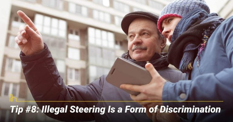Tip #8: Illegal Steering Is a Form of Discrimination