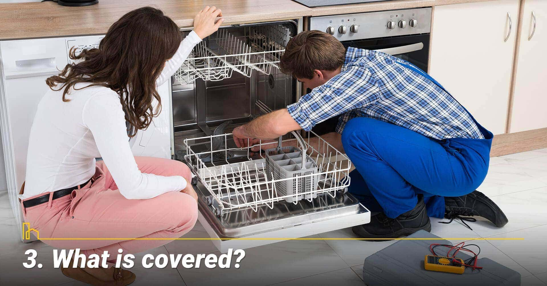 What is covered? coverage of a total home warranty
