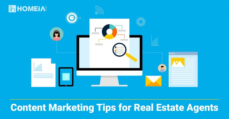 Content Marketing Tips for Real Estate Agents