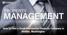 How to Find a Good Residential Property Company in Seattle, Washington