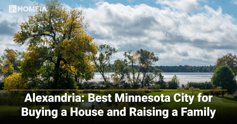 Alexandria-Best Minnesota City for Buying a House and Raising a Family