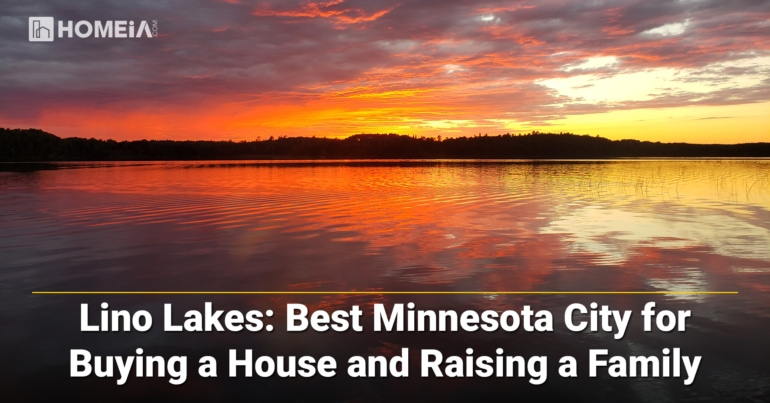 Lino Lakes-Best Minnesota City for Buying a House and Raising a Family