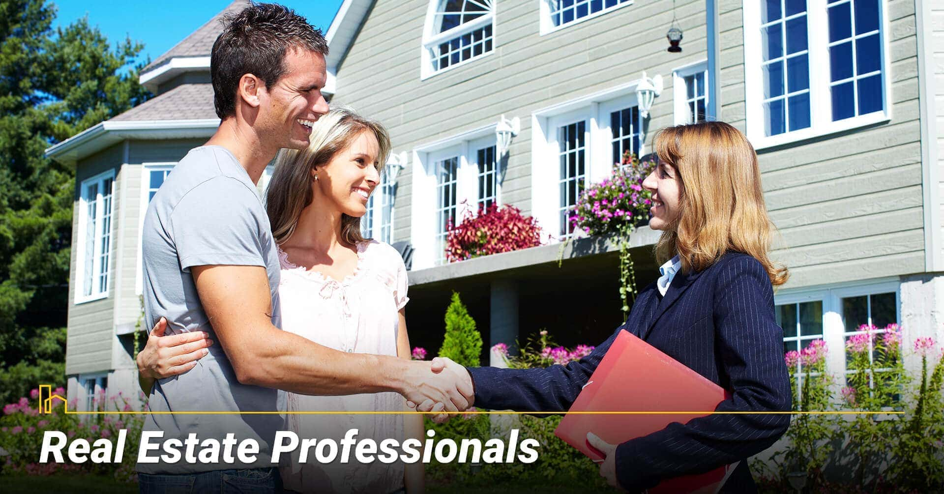Real Estate Professionals, take advice from your real estate agent