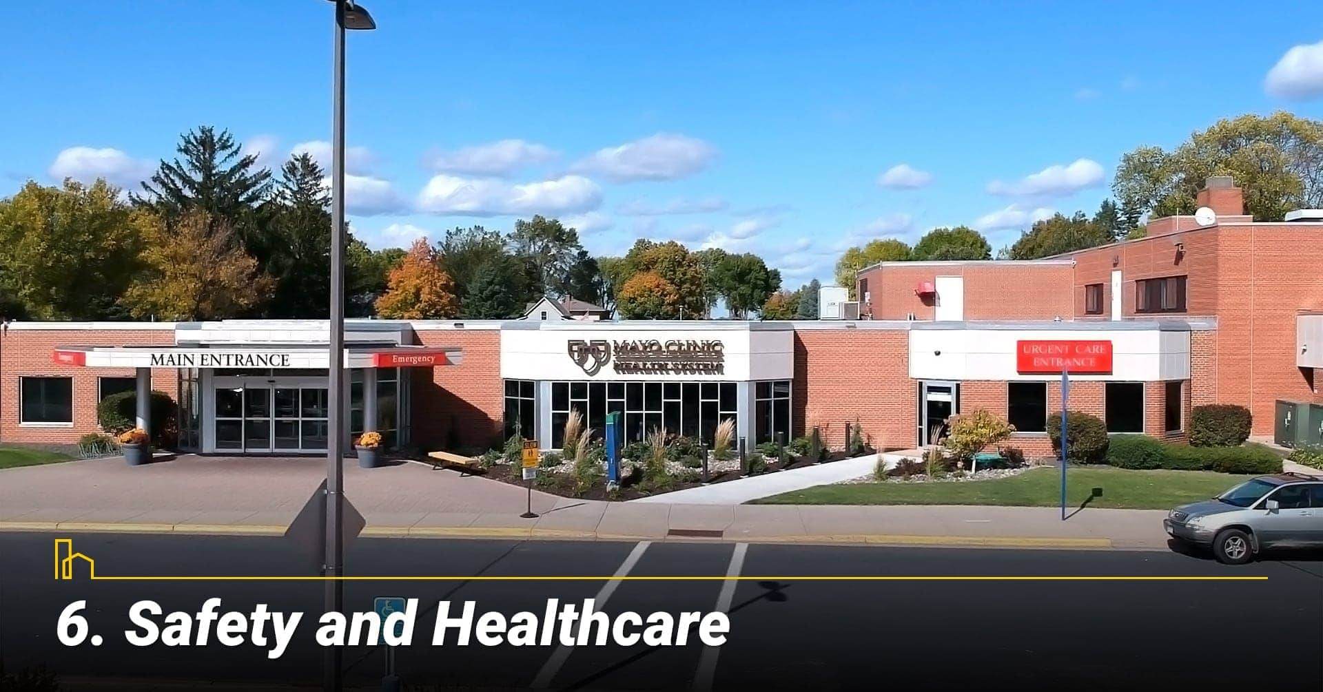 Safety and Healthcare in New Prague, MN