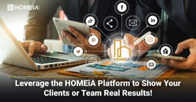 Leverage the HOMEiA Platform to Show Your Clients or Team Real Results!