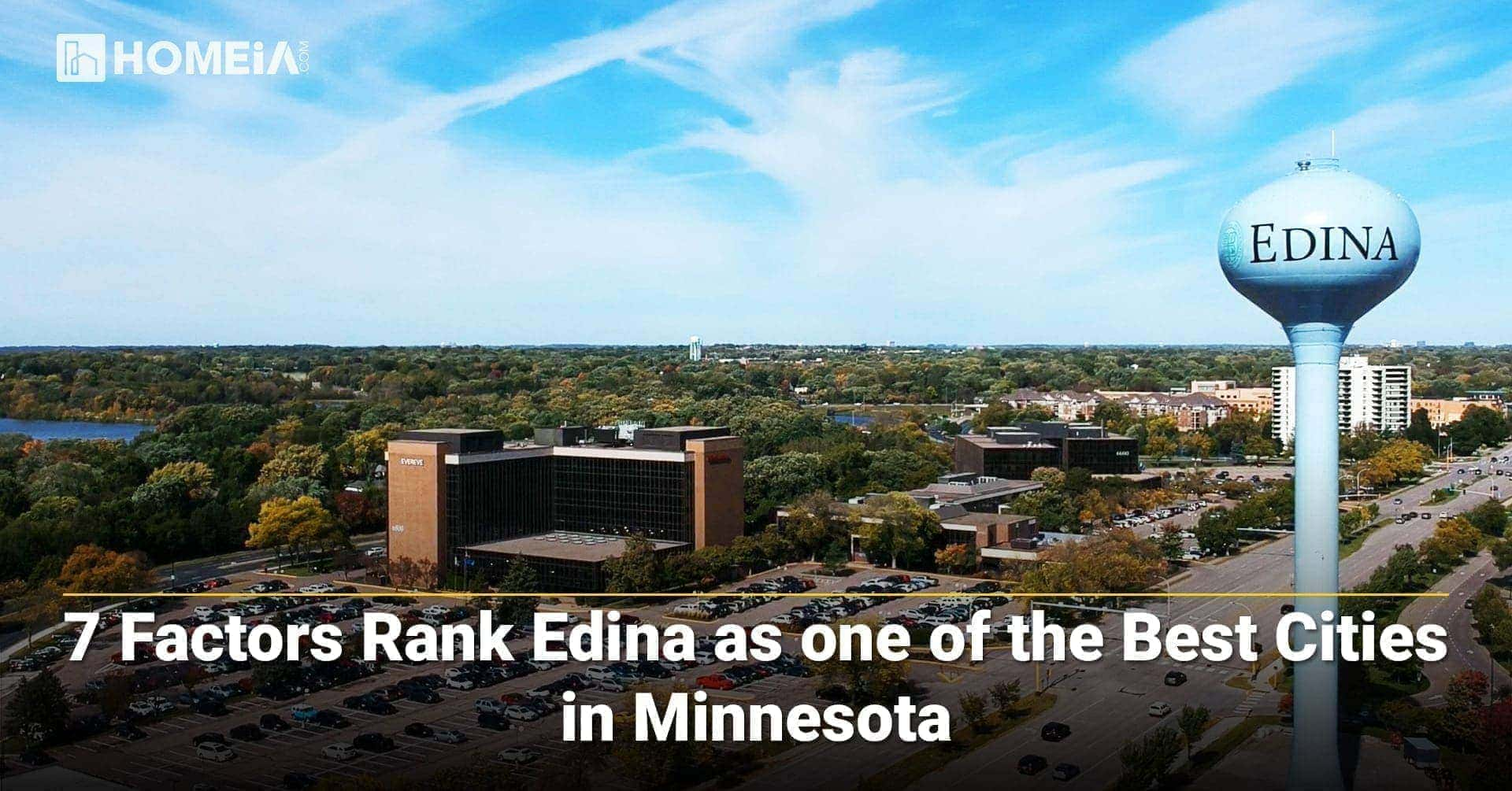 7 Factors Rank Edina as one of the Best Cities in Minnesota