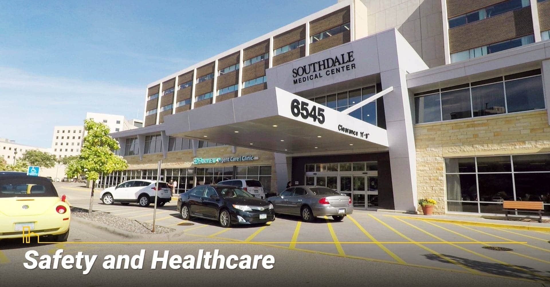 Safety and Healthcare in Edina, MN