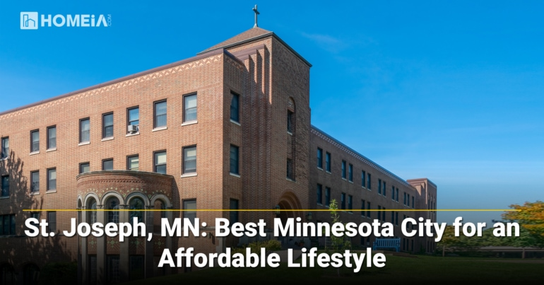 St. Joseph, MN-Best Minnesota City for an Affordable Lifestyle