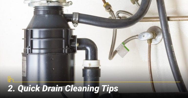Quick Drain Cleaning Tips
