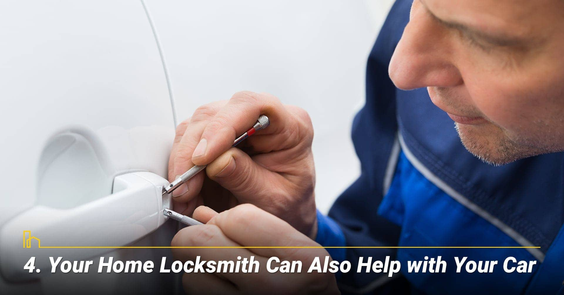 Your Home Locksmith Can Also Help with Your Car, they can help you get in your car
