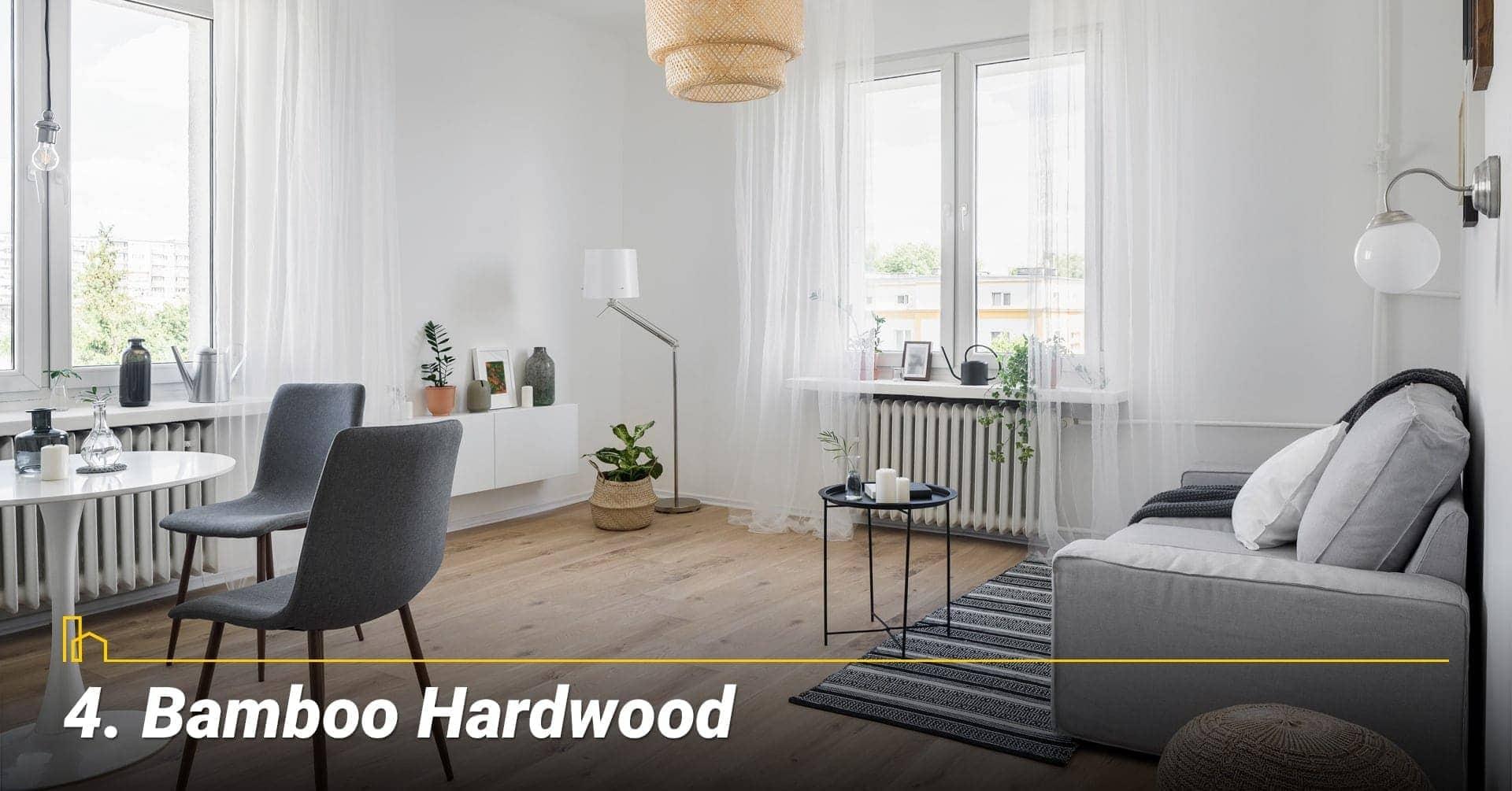 Bamboo Hardwood, cover your floor with bamboo hardwood