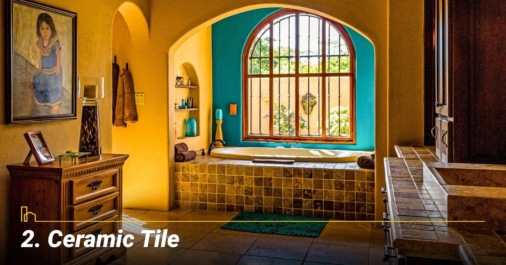 Ceramic Tile, cover your floor with ceramic tile