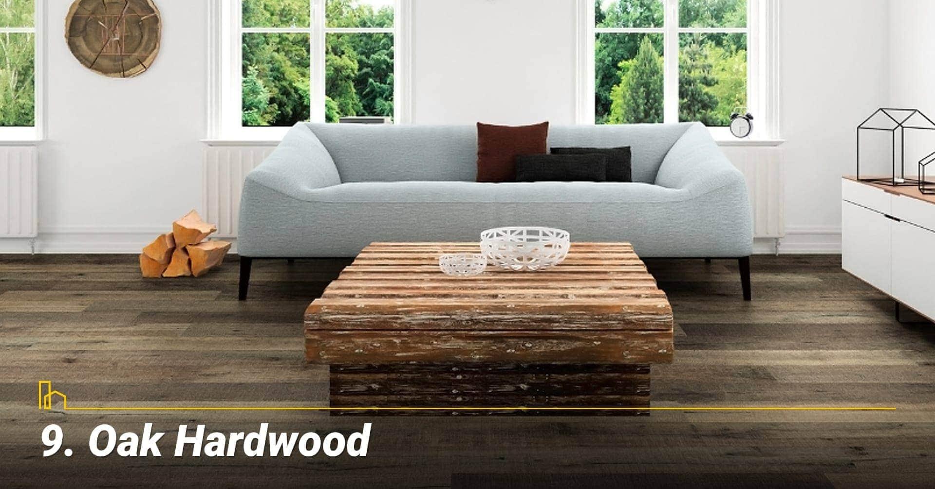 Oak Hardwood, cover your floor with oak hardwood