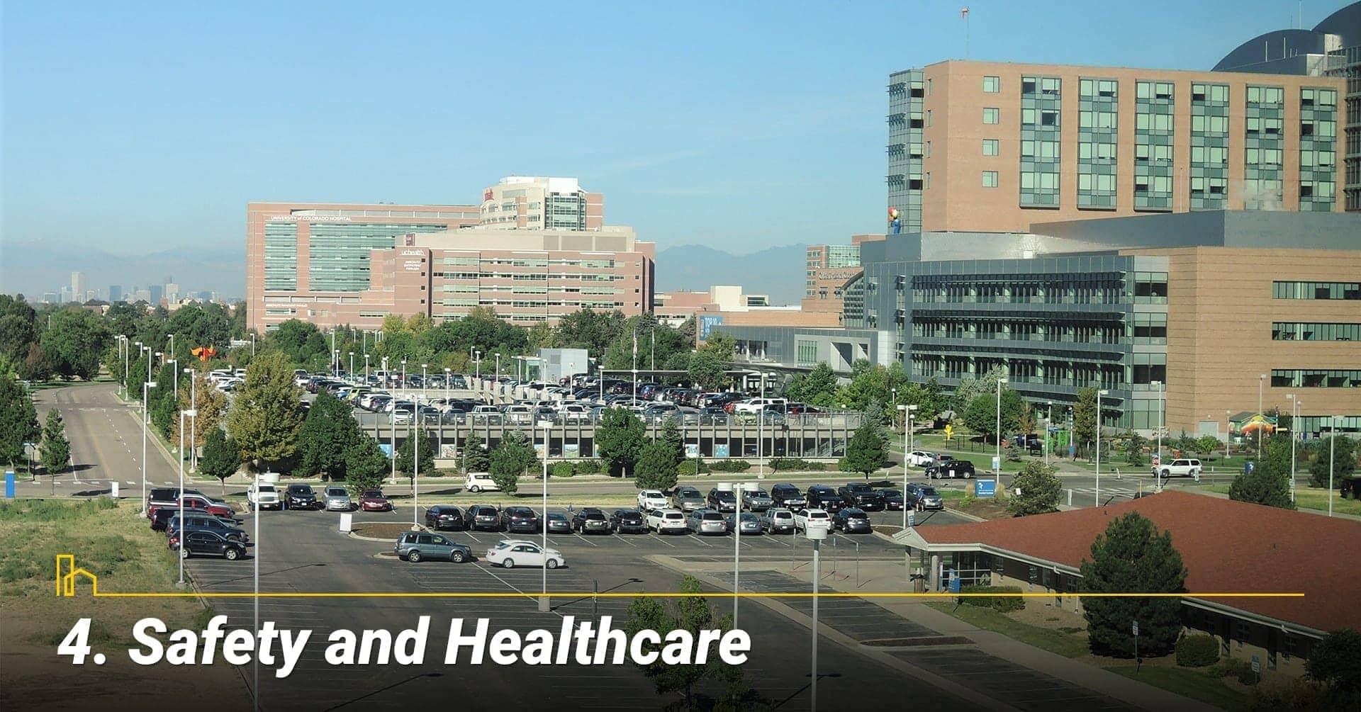Safety & Health Care in Denver, Colorado