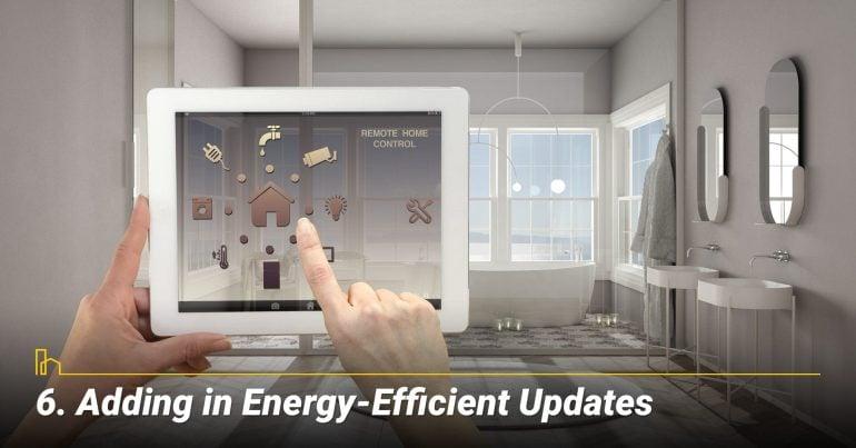 Adding in Energy-Efficient Updates