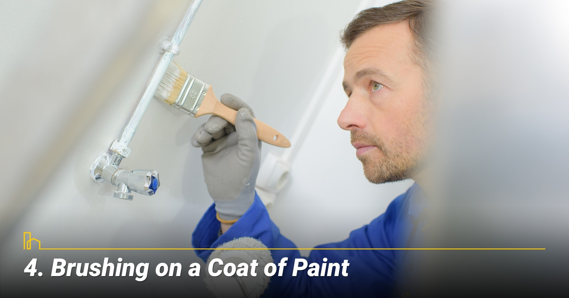 Brushing on a Coat of Paint, a new coat of paint