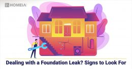 Dealing with a Foundation Leak? Signs to Look For