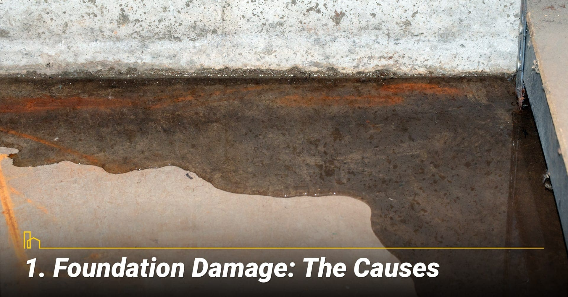 Foundation Damage: The Causes, look for the trouble spot