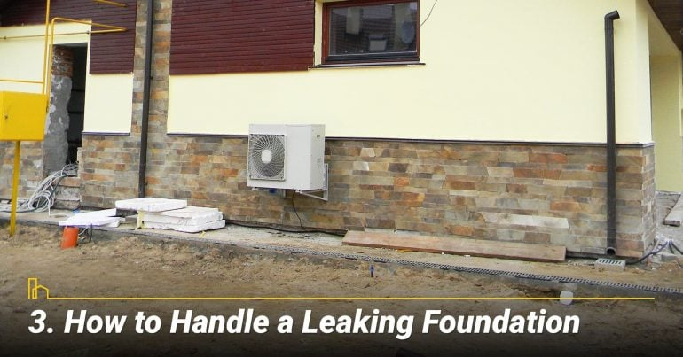 How to Handle a Leaking Foundation