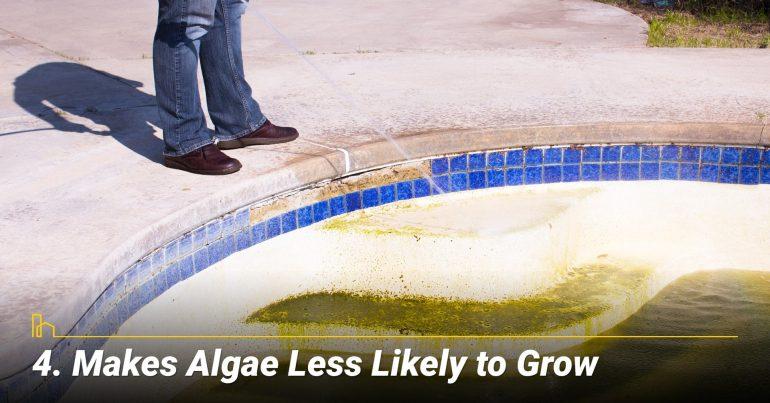 Makes Algae Less Likely to Grow