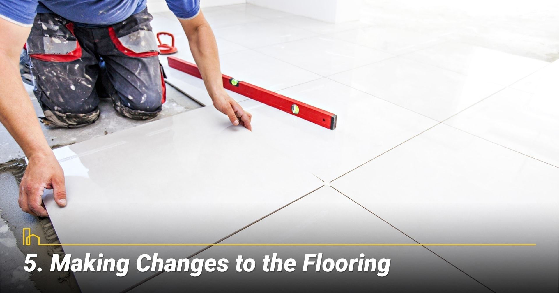 Making Changes to the Flooring, replace old floor