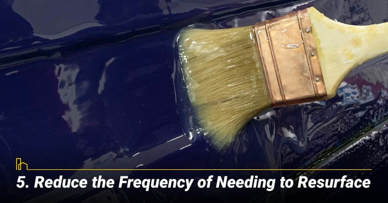 Reduce the Frequency of Needing to Resurface
