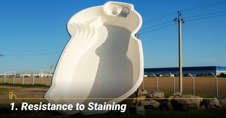 Resistance to Staining