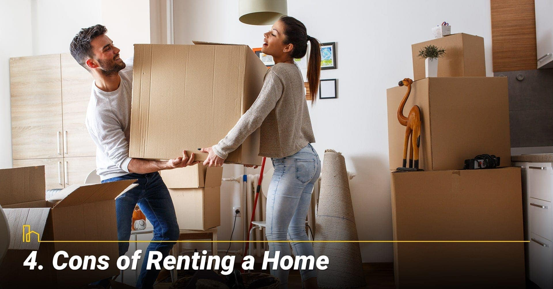Cons of Renting a Home, disadvantages of rent out your home