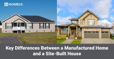 Key Differences Between a Manufactured Home and a Site-Built House