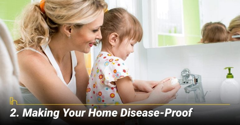 Making Your Home Disease-Proof