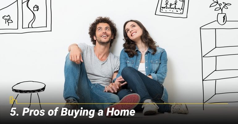 Pros of Buying a Home