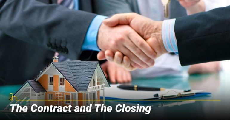 The Contract and The Closing
